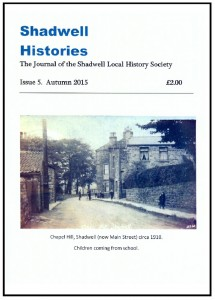 Shadwell histories - Autumn 2015