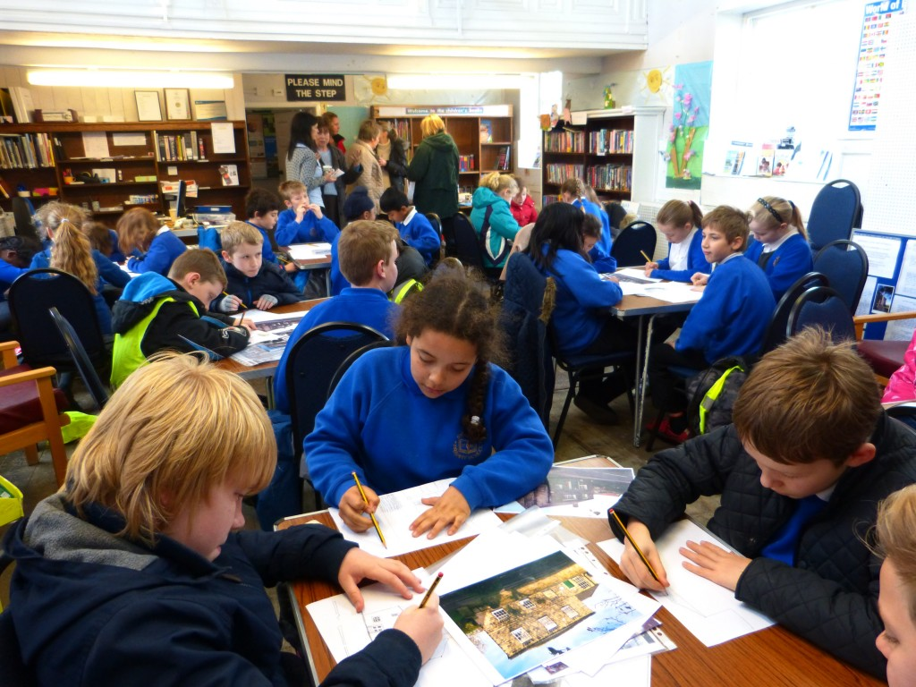 Shadwell Primary School working on local history