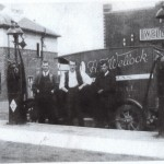 Edwards Garage with Wellock van