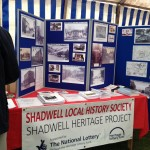Display at Shadwell Flower Show 2014