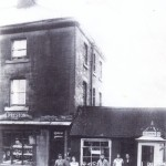 Prestons shop showing chimney