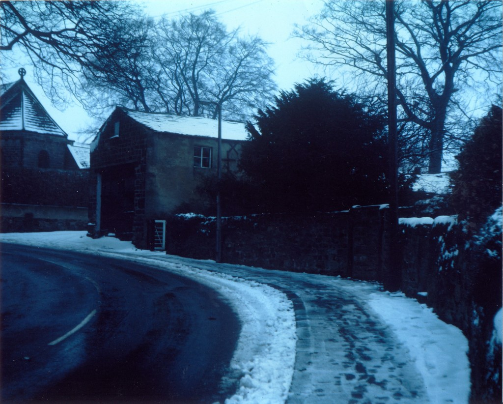 The lane and St Pauls church